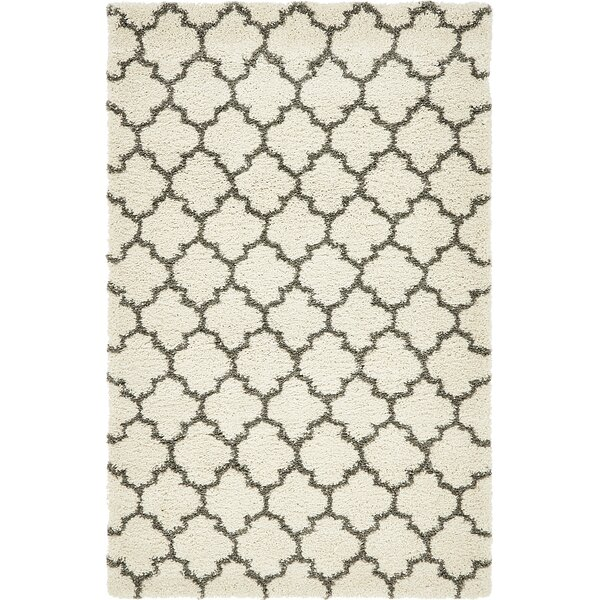 Cynthiana Pure Ivory Area Rug by Red Barrel Studio