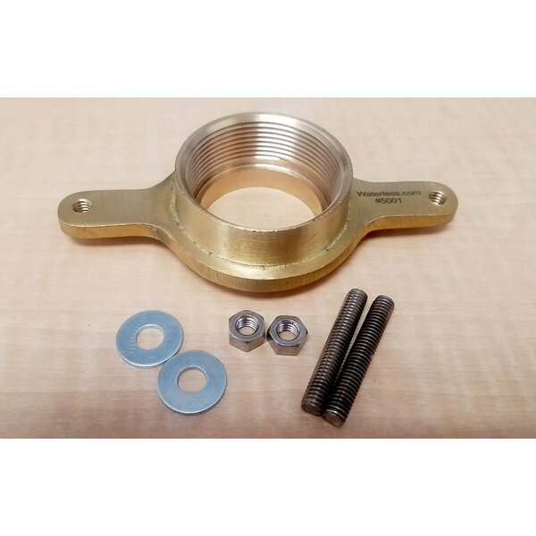 Brass Flange by Waterless