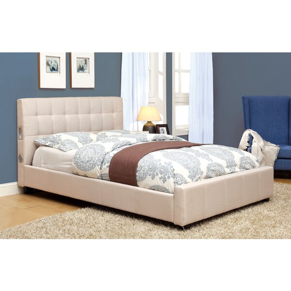 Jayjay Upholstered Platform Bed by Hokku Designs