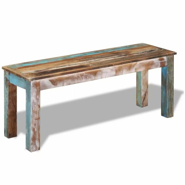Lisson Wood Bench by World Menagerie