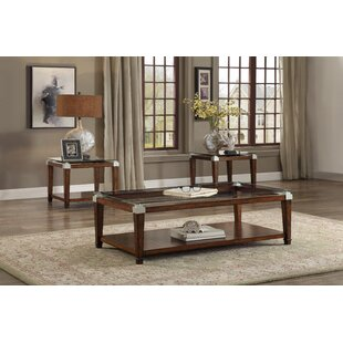 Find the perfect Lindy 3 Piece Coffee Table Set By Darby Home Co