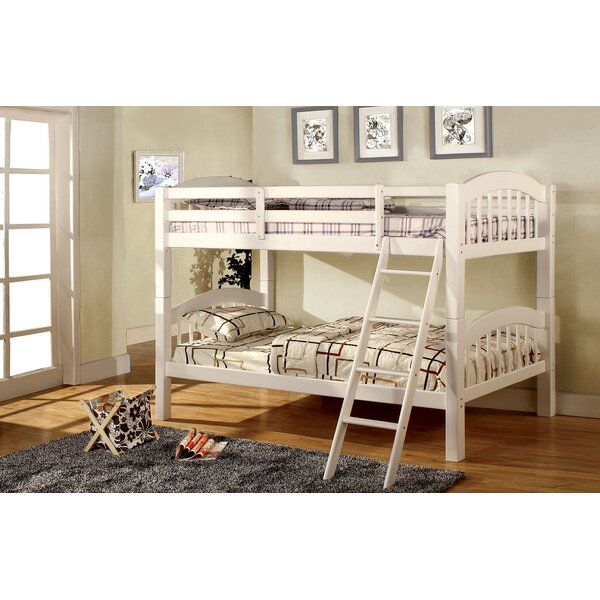 Stubbs Twin over Twin Bunk Bed by Harriet Bee