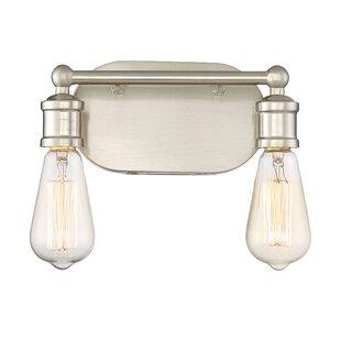 2 light bathroom vanity lighting youll love save aloadofball Image collections