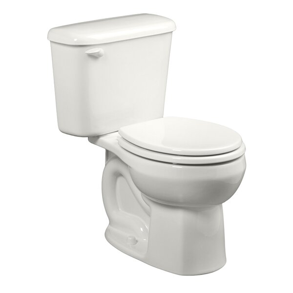Colony Rough-In 1.28 GPF Round Two-Piece Toilet by American Standard
