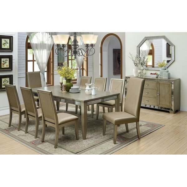 Coronel Solid Wood Dining Table by Mercer41 Mercer41