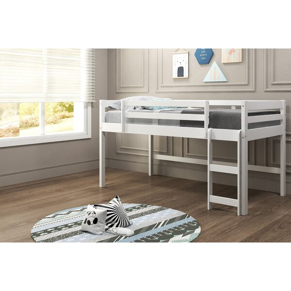 Brynne Twin Low Loft Bed by Harriet Bee