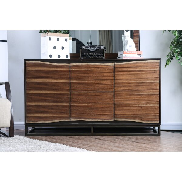 Odysseus 2 Drawer Combo Dresser by 17 Stories