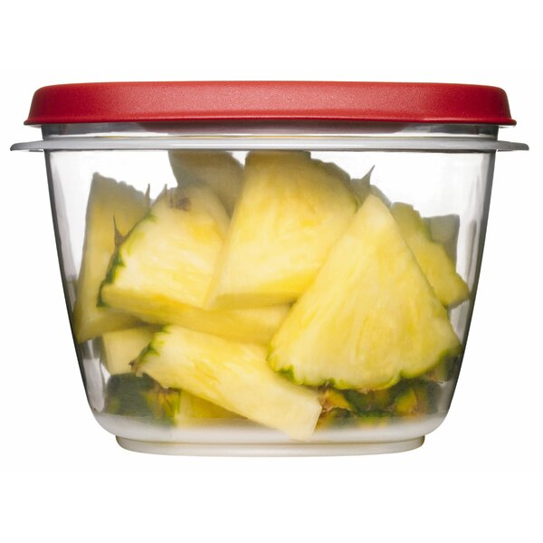 Easy Find Square 32 Oz. Food Storage Container by Rubbermaid
