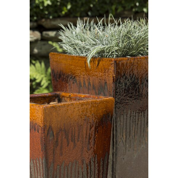 Almondsbury 3-Piece Terracotta Pot Planter Set by Bloomsbury Market