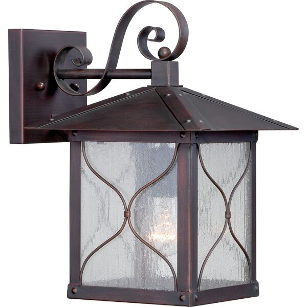 Dufresne 1-Light Outdoor Wall Lantern by Fleur De Lis Living
