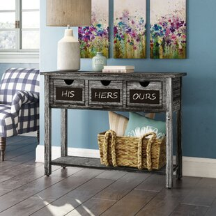 Winsted 3 Drawer Console Table