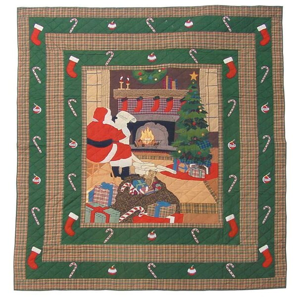 Santa By the Fireside Quilt Collection by Patch Ma
