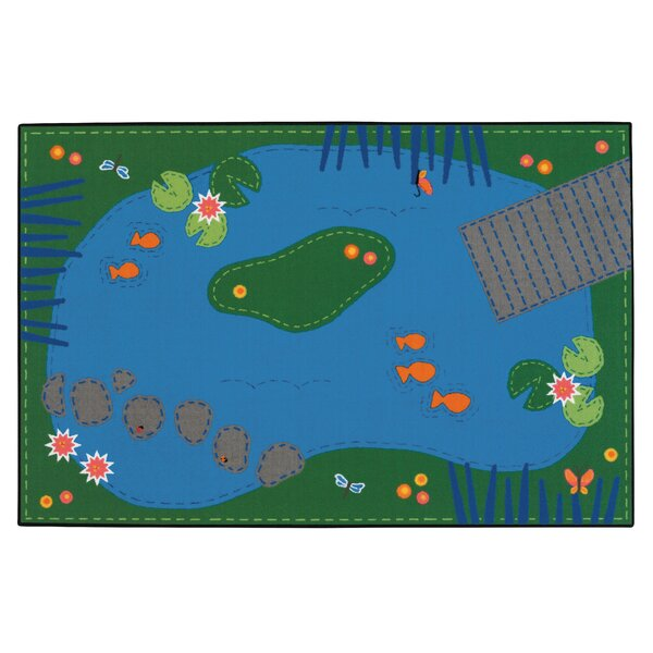 Value Plus Tranquil Pond Area Rug by Carpets for Kids