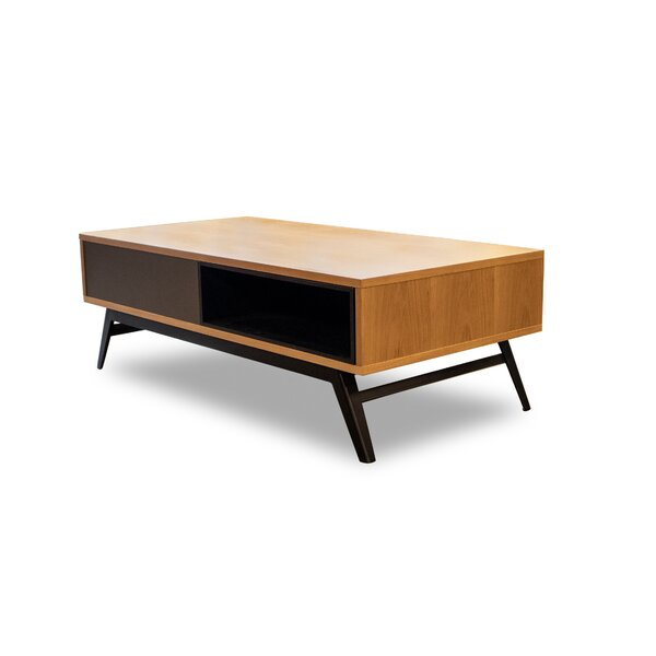 Shuman Coffee Table With Storage By Corrigan Studio