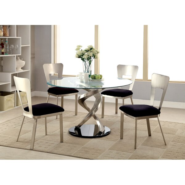 Cannon II 5 Piece Dining Set by Hokku Designs