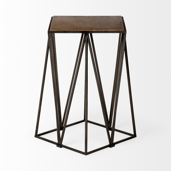 Brotherton End Table by Williston Forge