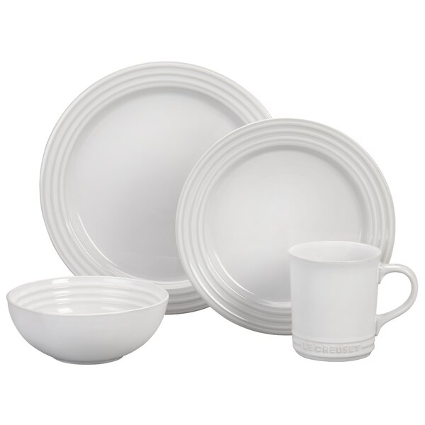 16 Piece Dinnerware Set by Le Creuset