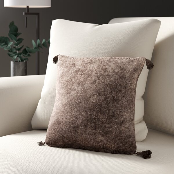 Tool Velvet Throw Pillow by Greyleigh
