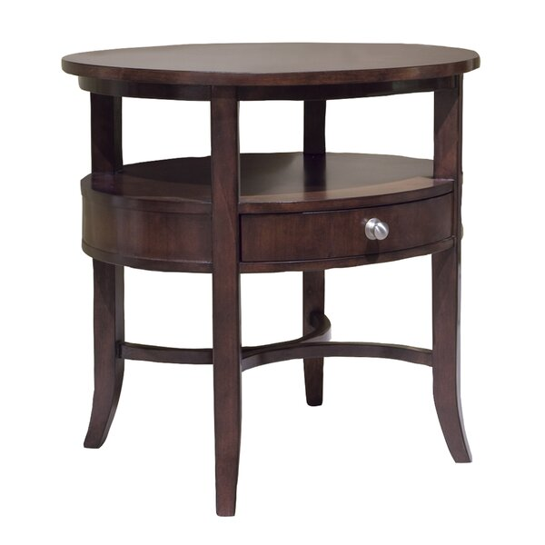 Manhattan End Table with Storage by Fairfield Chair Fairfield Chair