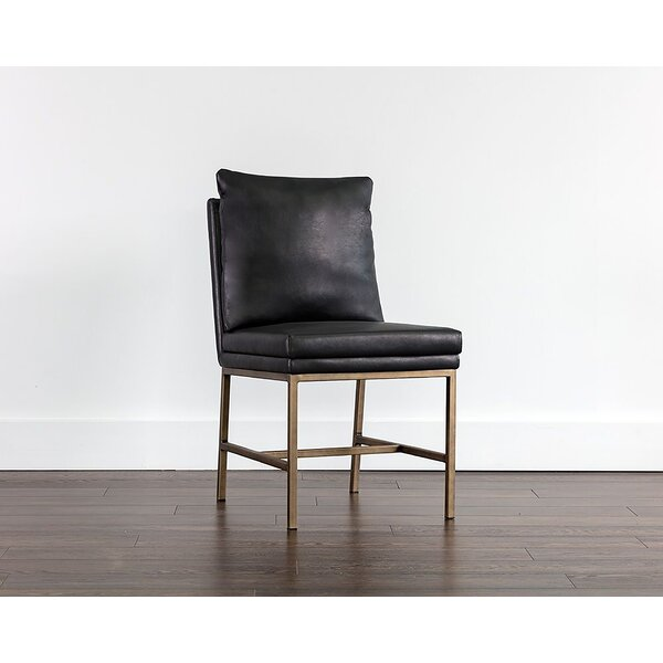 Deatsville Upholstered Parsons Chair by Everly Quinn Everly Quinn