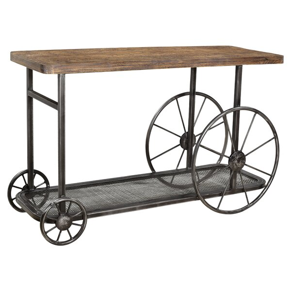 Best Hessler Wheel Console Table