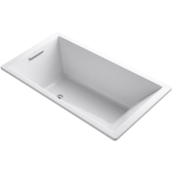 Underscore Vibracoustic 66 x 36 Soaking Bathtub by Kohler
