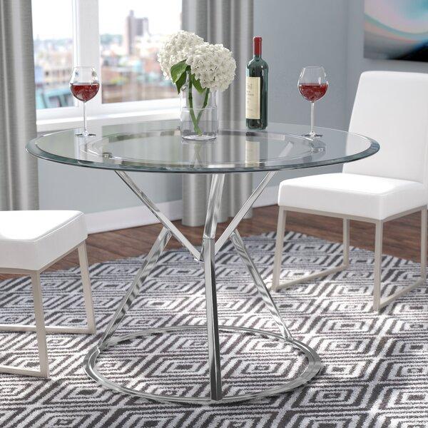 Destan Contemporary Dining Table by Orren Ellis