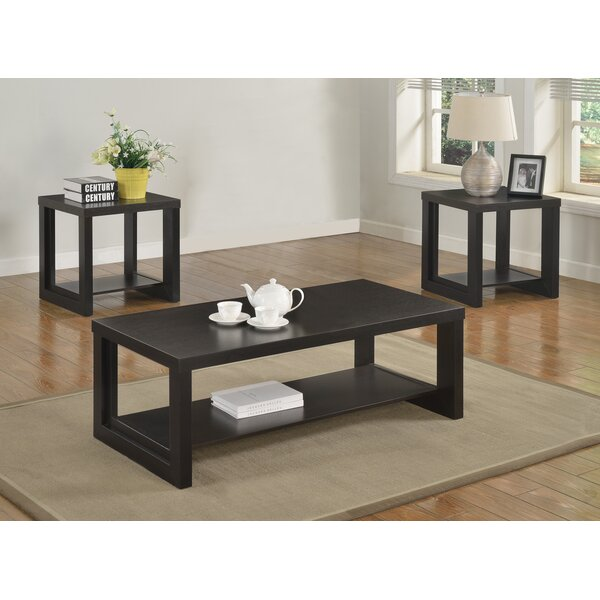 Duerr 3 Piece Coffee Table Set by Wrought Studio Wrought Studio™