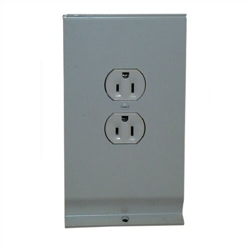 Hydronic / Architectural Style Baseboard Receptacle Section by TPI