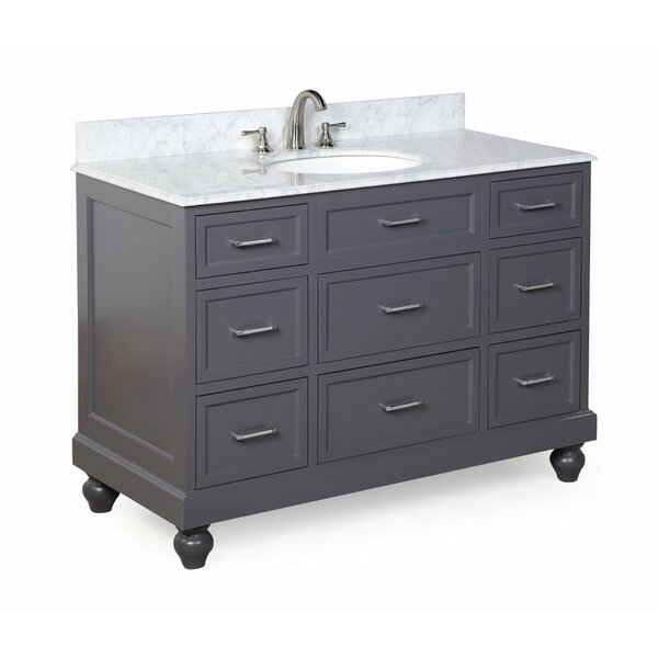 Amelia 48 Single Bathroom Vanity Set by Kitchen Bath Collection