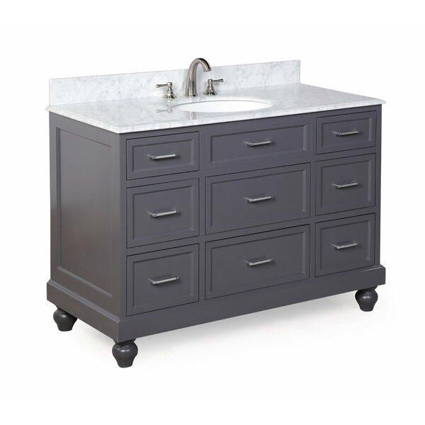 Amelia 48 Single Bathroom Vanity Set by Kitchen Bath Collection