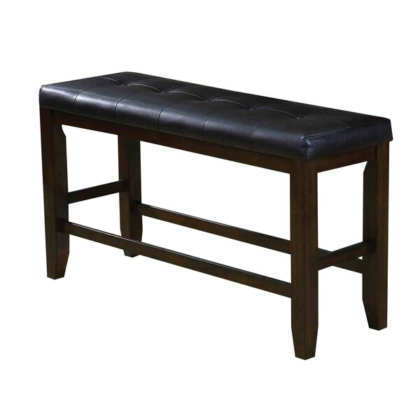 Stanley Upholstered Bench by Alcott Hill