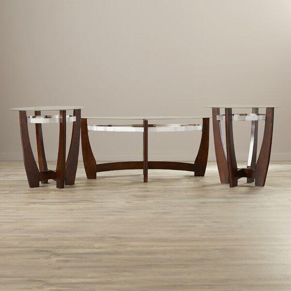 Collum 3 Piece Coffee Table Set