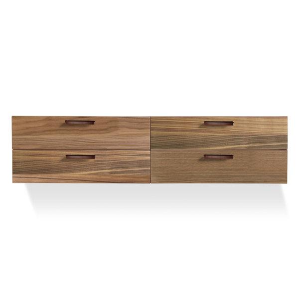 Shale 4 Drawer Double Dresser by Blu Dot Blu Dot