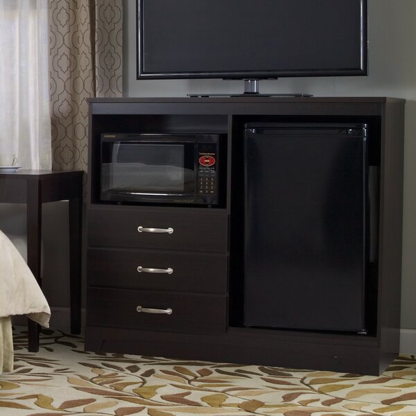 No Da Combination Mini Refrigerator and Microwave Chest by Lang Furniture