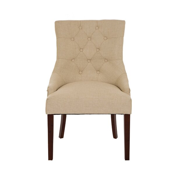Highvale Tufted Back Fabric Dining Chair (Set of 2) by Darby Home Co