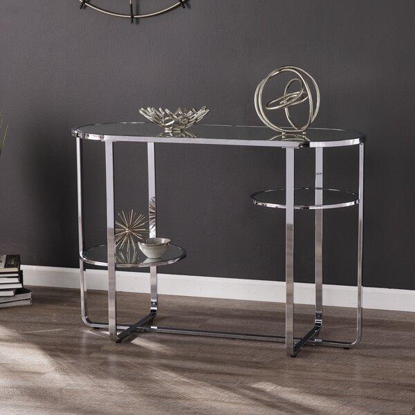 Mirrored Console Table W/ Storage By Latitude Run