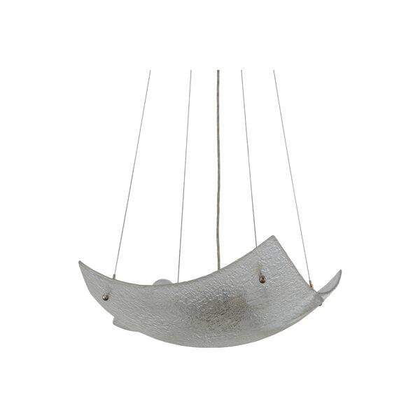 4 - Light Shaded Square / Rectangle Chandelier by Meyda Tiffany Meyda Tiffany