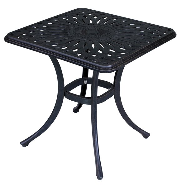 Wesner Aluminum Side Table by Canora Grey Canora Grey