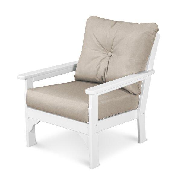 Vineyard Patio Chair with Sunbrella Cushions by POLYWOOD®