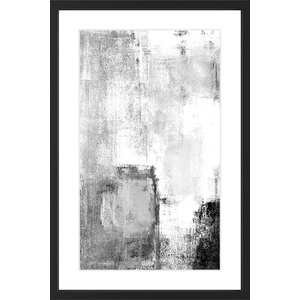 'Deeper Figure' Framed Painting Print by Marmont Hill