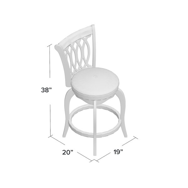 Applebaum 24 Swivel Bar Stool by Red Barrel Studio