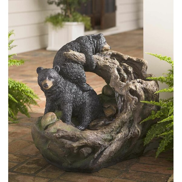 Bear Fountain by Plow & Hearth