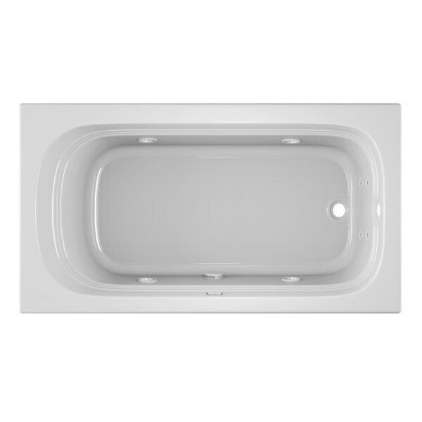 Luxura 66 x 34 Drop In Whirlpool Bathtub by Jacuzzi®