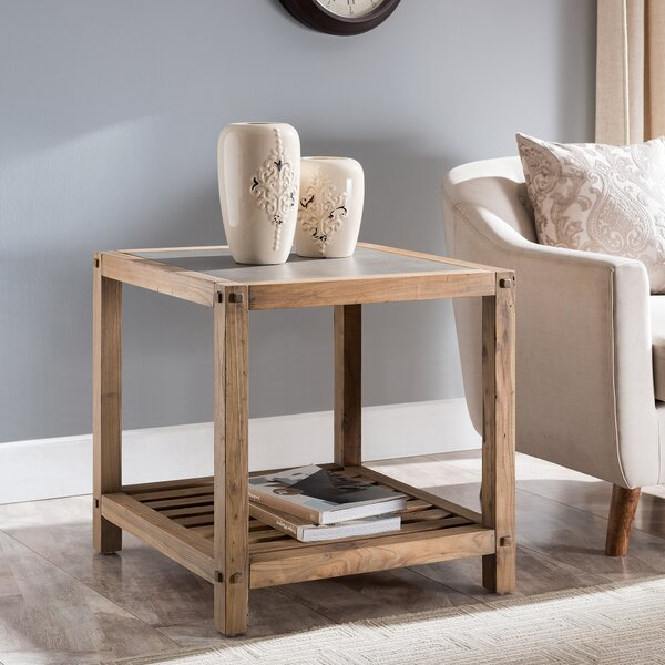 Jose End Table by Millwood Pines