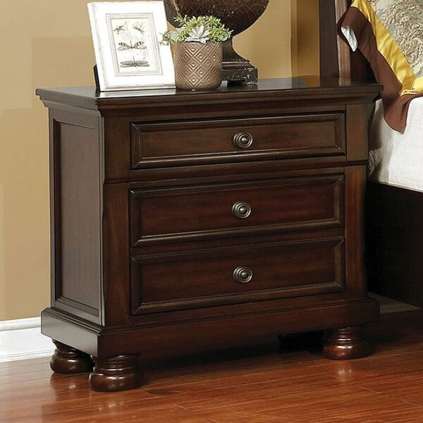 Bayhills 3 Drawer Nightstand by Canora Grey