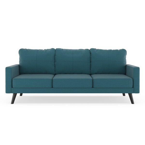 Cowhill Oxford Weave Sofa by Corrigan Studio