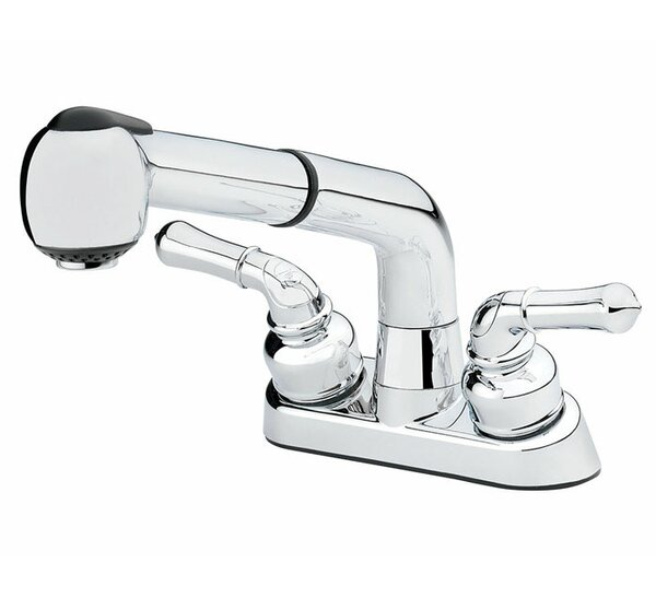 Double Handle Kitchen Faucet by Homewerks