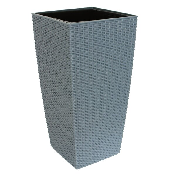 Modena Rattan Self Watering Plastic Pot Planter by Algreen