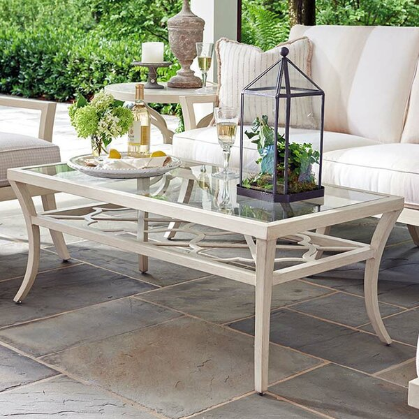 Misty Garden Glass Coffee Table by Tommy Bahama Outdoor